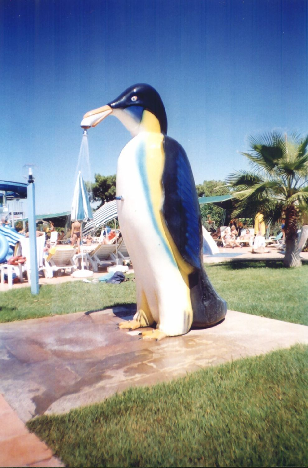 Fiberglass shower / for water parks / child\'s - PENGUIN - Polin ...