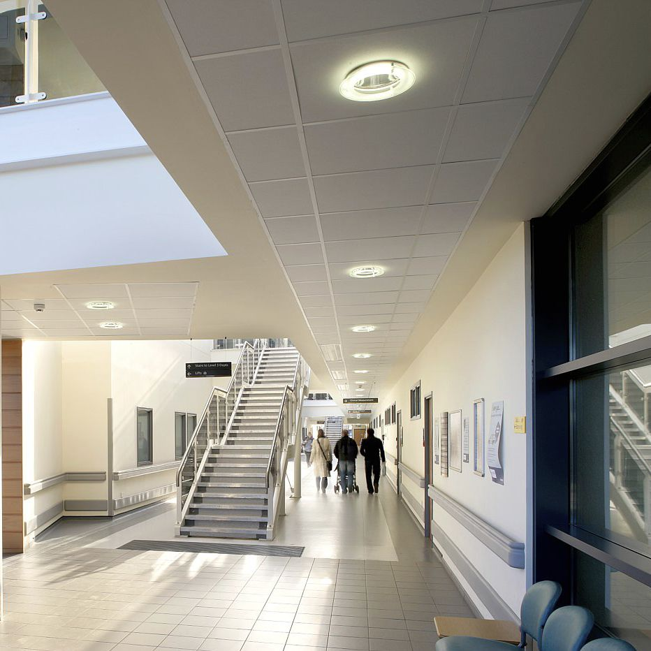 Stone Wool Suspended Ceiling Tile Panel Acoustic Medicare