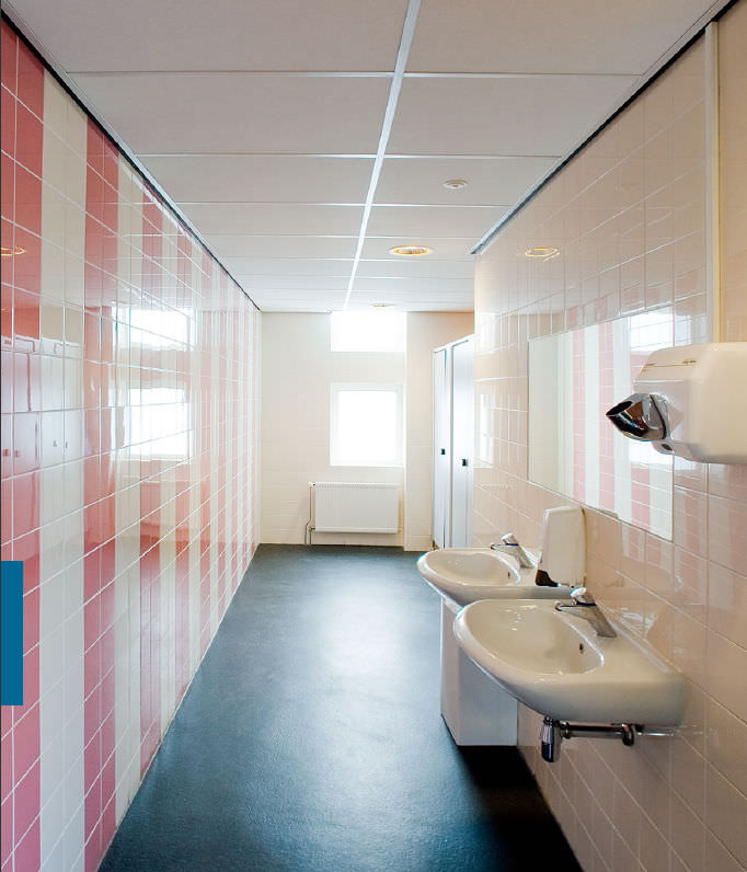 Stone Wool Suspended Ceiling Tile Panel Acoustic Logic