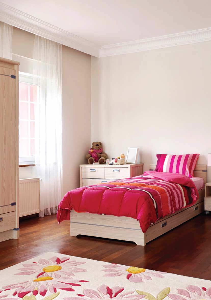 PVC Flooring Printed Wood Look High Resistance