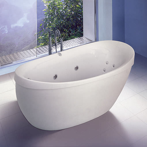 Free Standing Bathtub / Oval / Acrylic / Hydromassage   ARTESIA