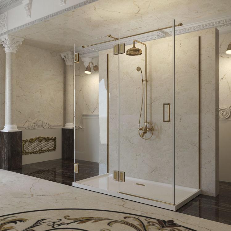 Sliding shower screen / glass - LUXURY IBIZA - MENORCA - MURCIA ...