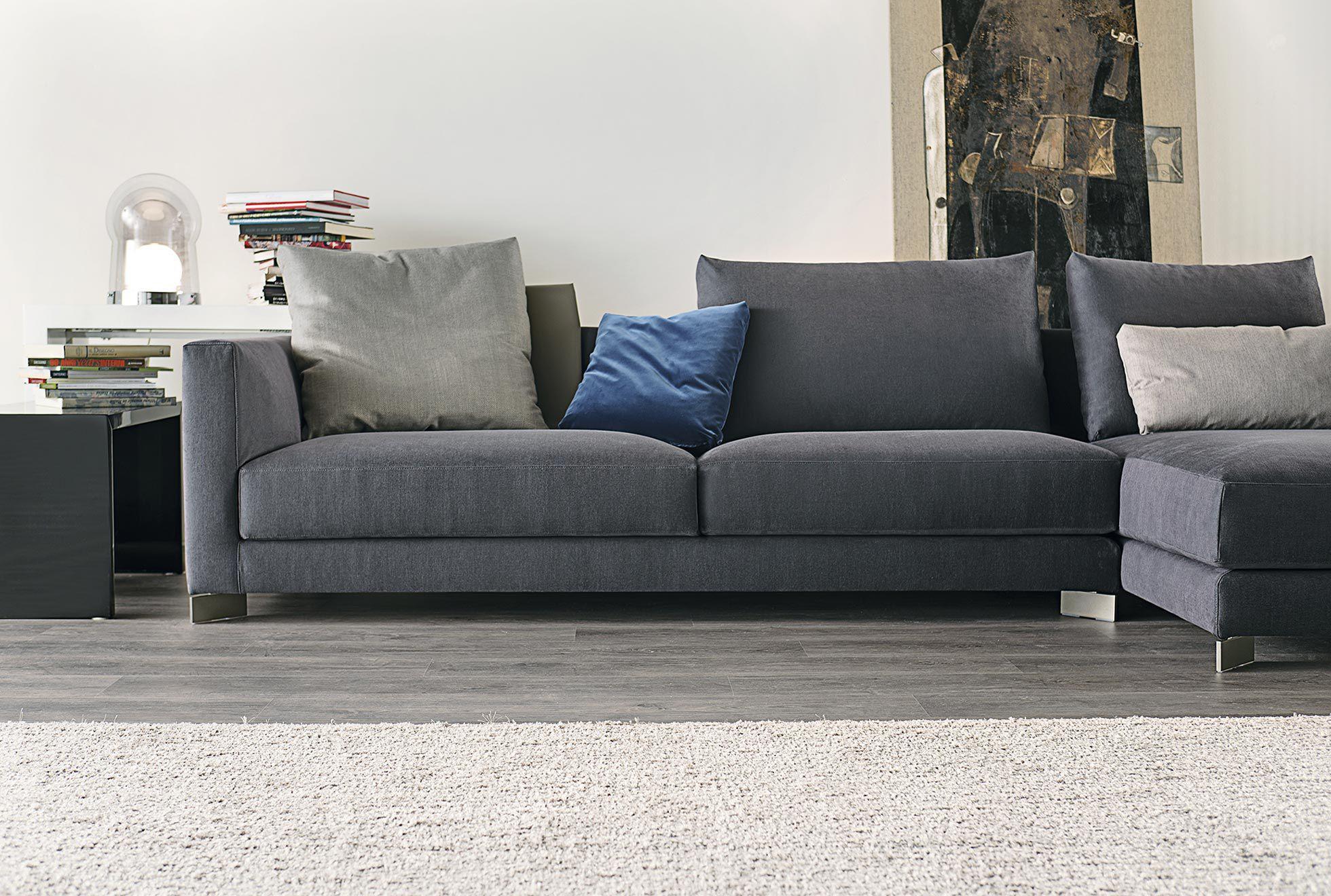 Modular sofa contemporary fabric ergonomic BLUM art nova srl