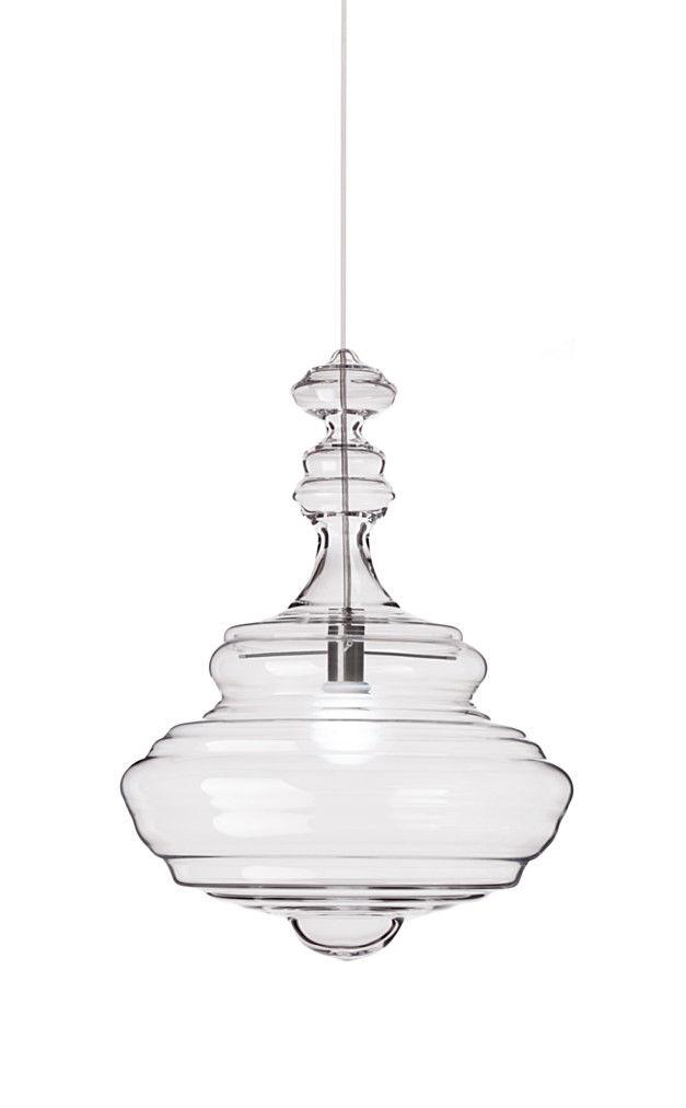pendant lamp original design glass neverending glory 13x008