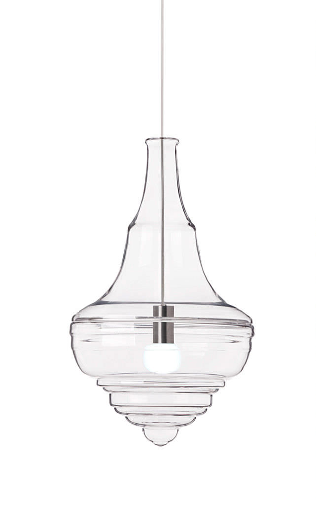 Awesome pendant lamp original design glass NEVERENDING GLORY 13X011 0 by J Plechac & H Wielgus In 2019 - Contemporary glass pendant lamp Idea