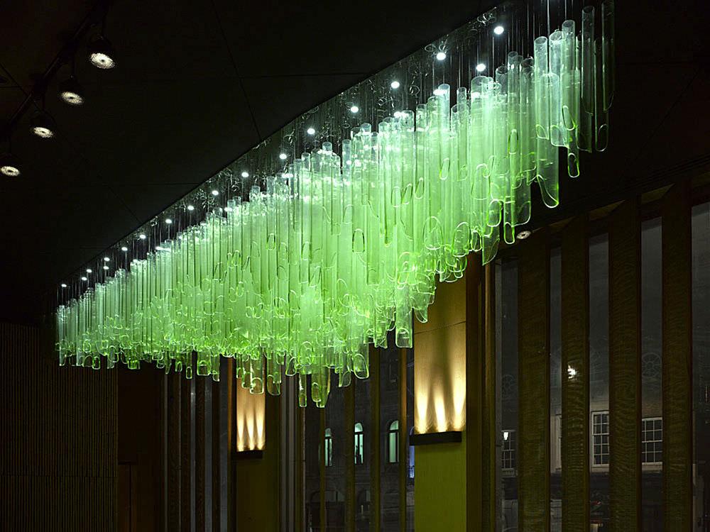 Contemporary chandelier glass led bamboo forest by jitka contemporary chandelier glass led bamboo forest by jitka kamencov skuhrav aloadofball Gallery