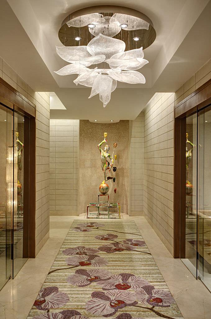 ... Original Design Ceiling Light / Crystal / Halogen ...