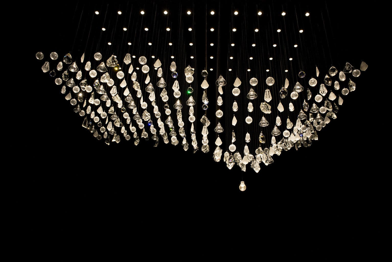 Contemporary chandelier crystal blown glass led magnetic by contemporary chandelier crystal blown glass led magnetic by libor sok aloadofball Choice Image