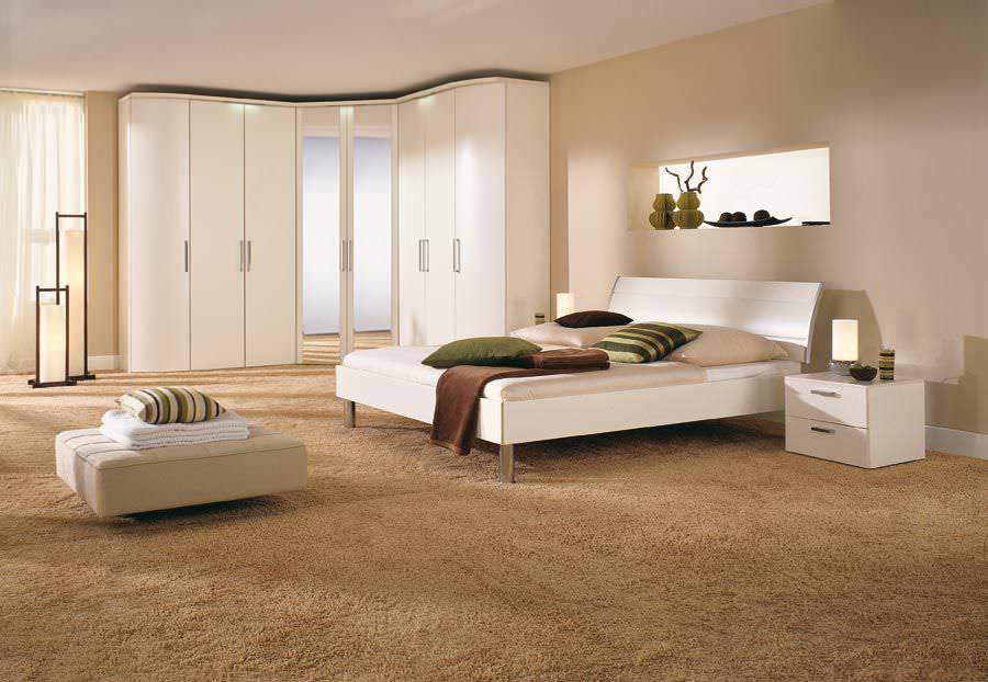 Corner wardrobe / contemporary / wooden / with swing doors ...