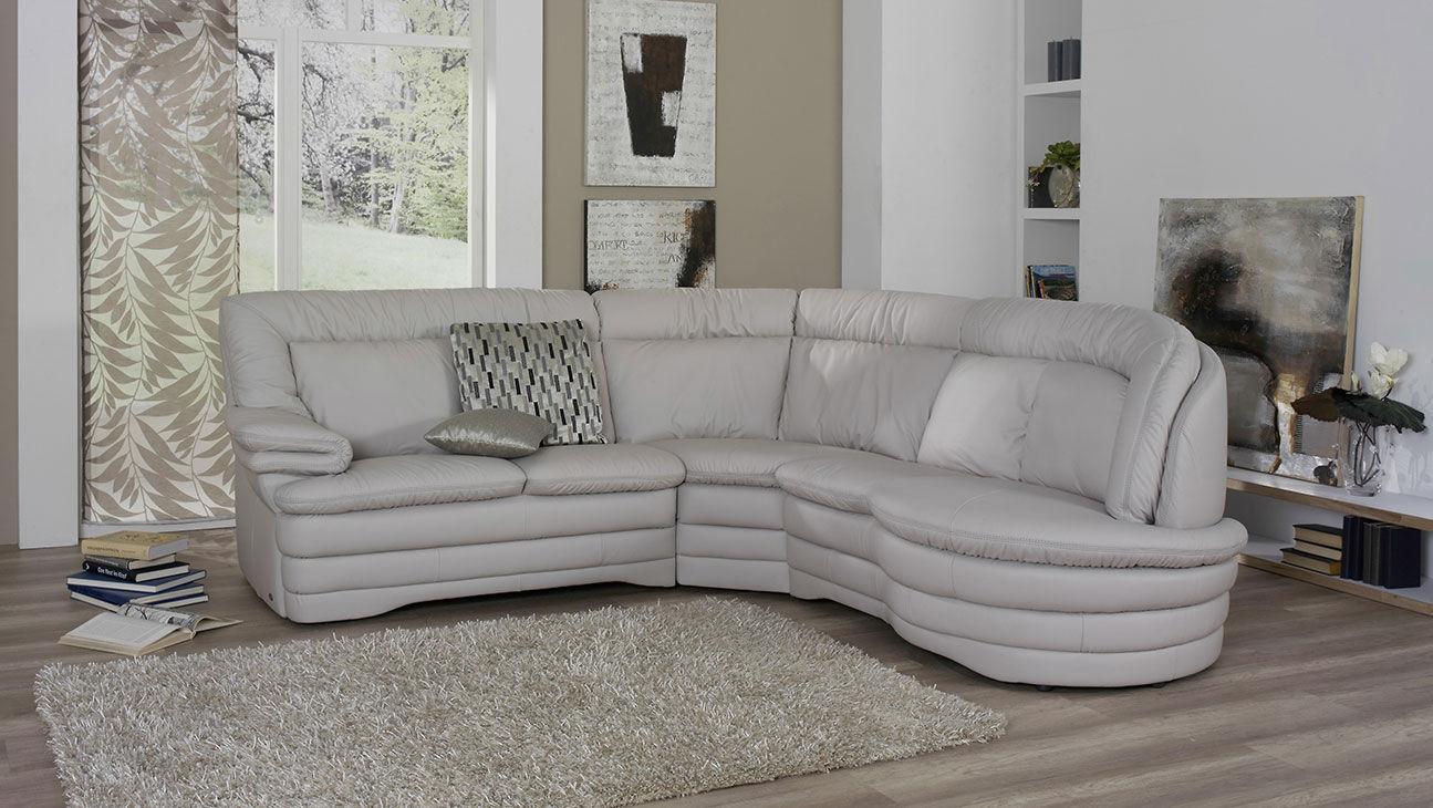 Modular Sofa Corner Traditional Leather