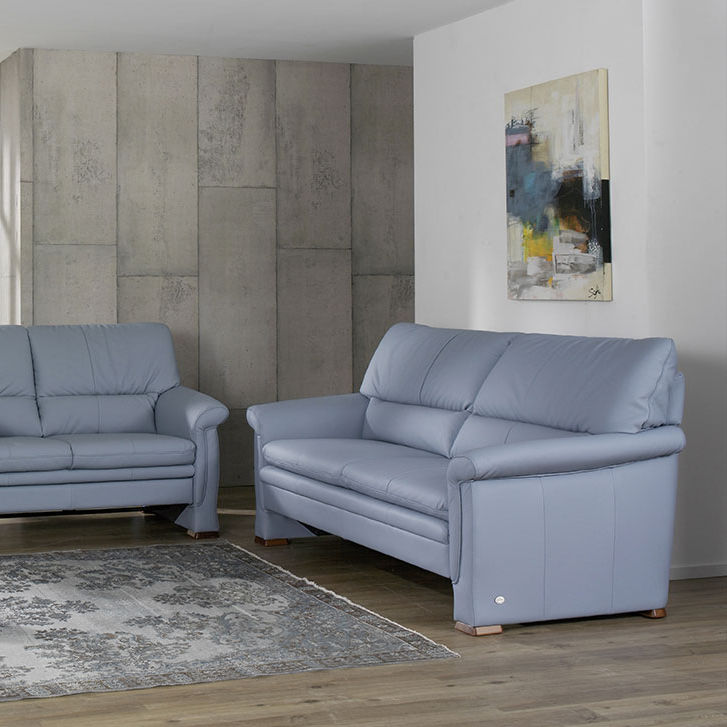 Sofa Bed Traditional Fabric Leather
