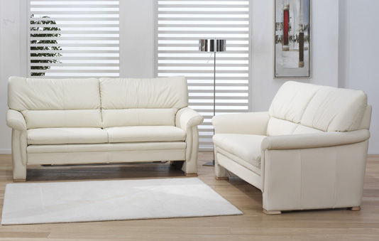 Sofa bed / traditional / leather / 2-seater - SLEEPOLY : 2253 ...