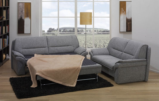 Sofa bed / traditional / fabric / 2-seater - SLEEPOLY : 2350 ...