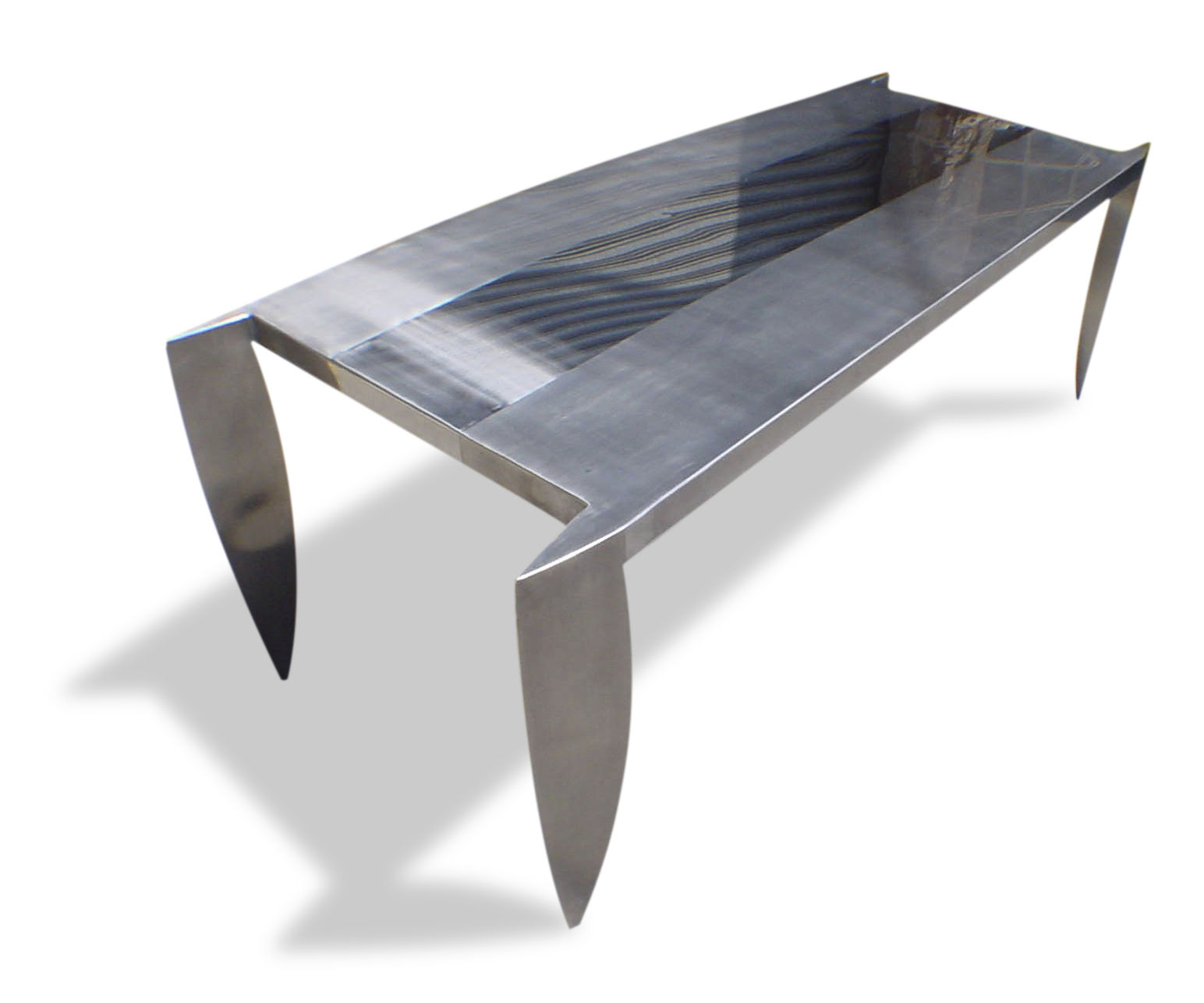 table design. Original Design Table / Stainless Steel Rectangular Square - DAGGER O