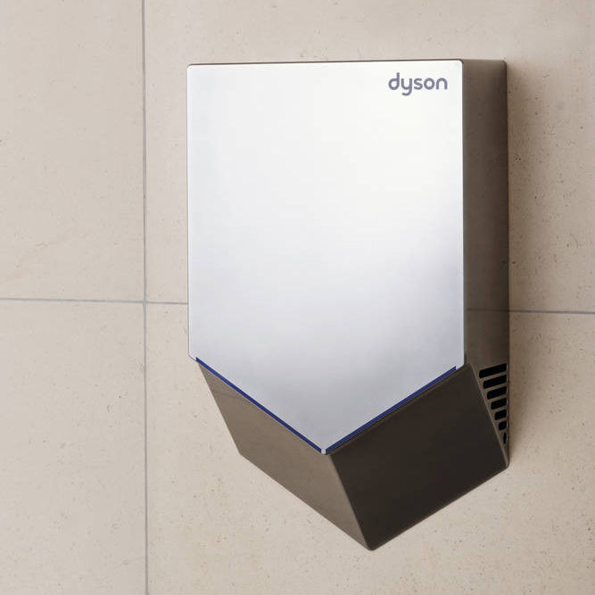 fan hand dryer wall mounted polycarbonate airblade v - Dyson Airblade V