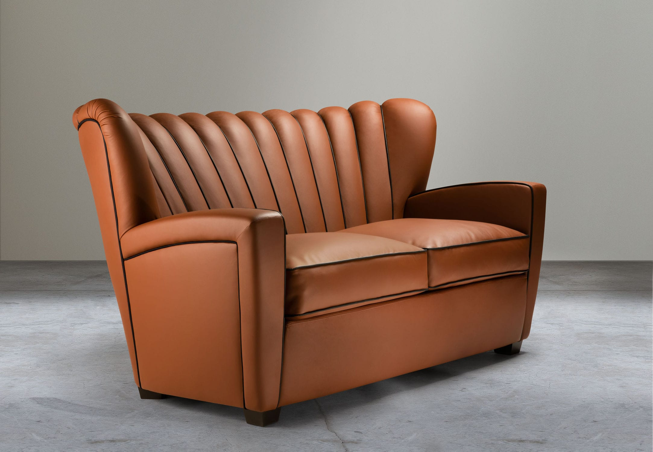 Contemporary Sofa / Fabric / Leather   ZARINA By Cesare Cassina