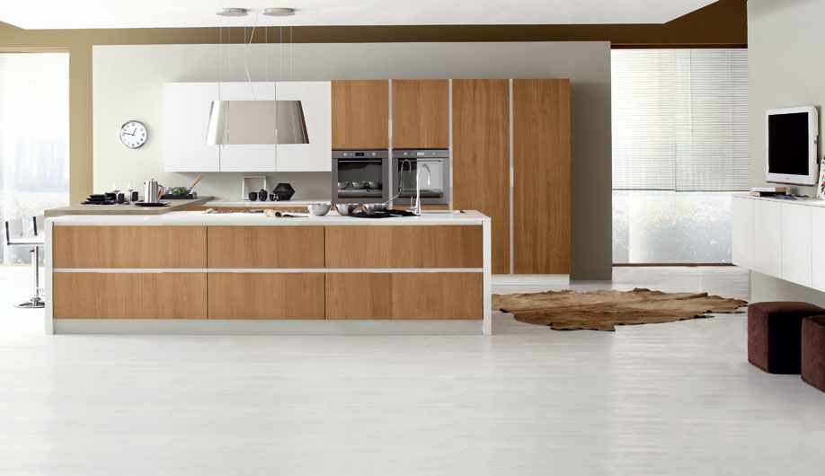 Contemporary Kitchens Wood Best Decorating