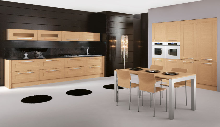 Contemporary Kitchens Wood Custom Decoration