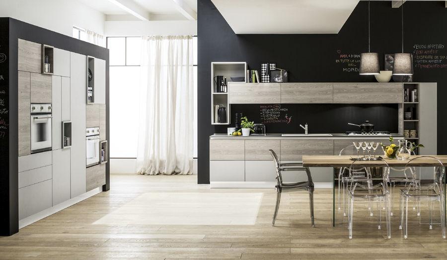 Contemporary kitchen / wooden - ORIENTE - Arrex