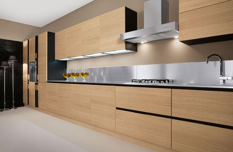 Contemporary kitchen / wooden - AVENA - Arrex