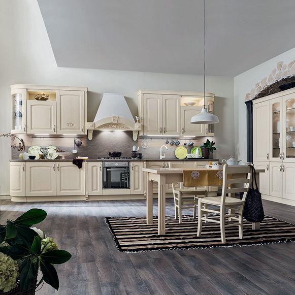 Traditional kitchen / wooden - BARCHESSA - Ar-Tre