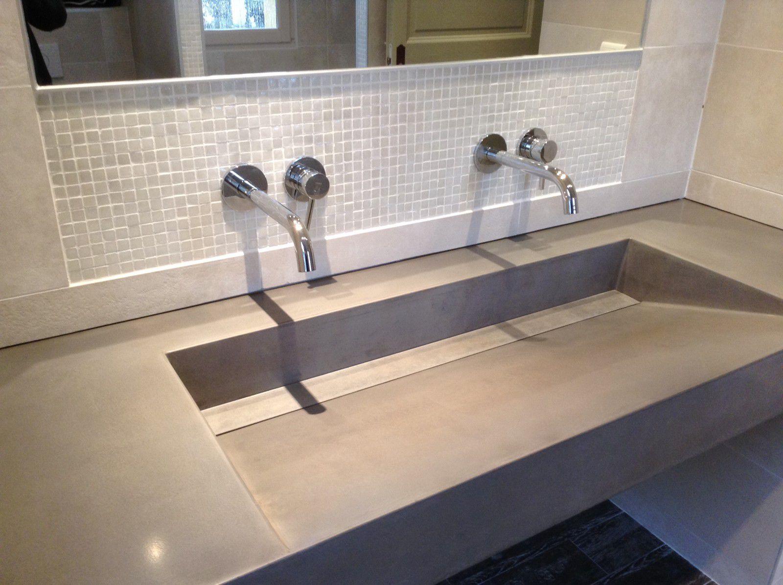 Ductal Uhp Concrete Vanity Top Custom Lame De Discretion