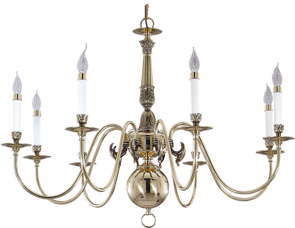Chandelier Metal: Classic chandelier / metal / incandescent - HOLANDESAS 248B,Lighting