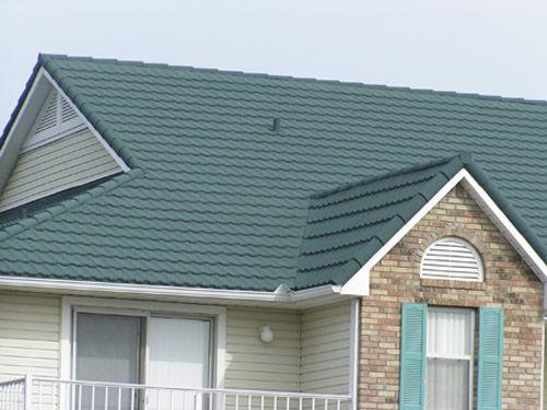 ... Sheet Metal Roofing / Roof Tile Look / Colored GRANUTILE ATAS  International ...