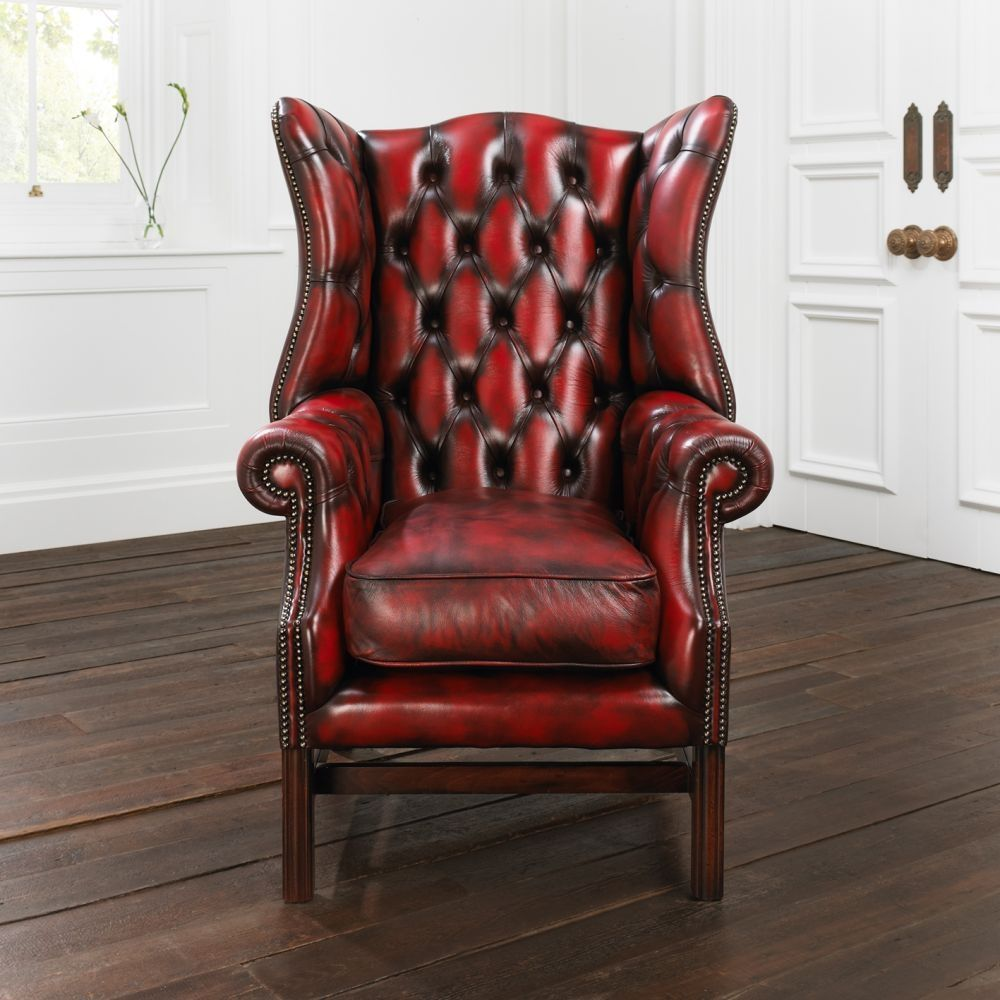 Ordinaire Chesterfield Armchair / Leather   PAXTON