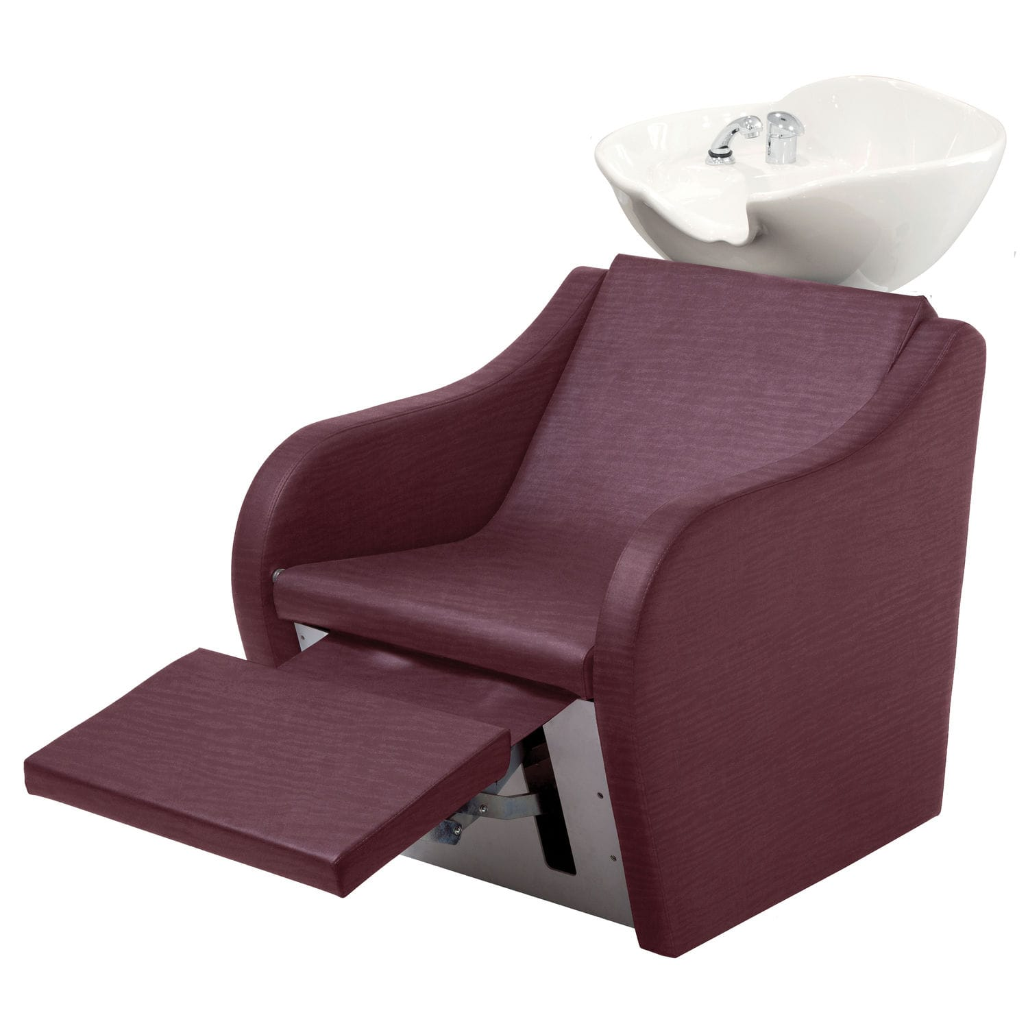 Shampoo chair with footrest SKY WASH SWING FORT 4594 Maletti
