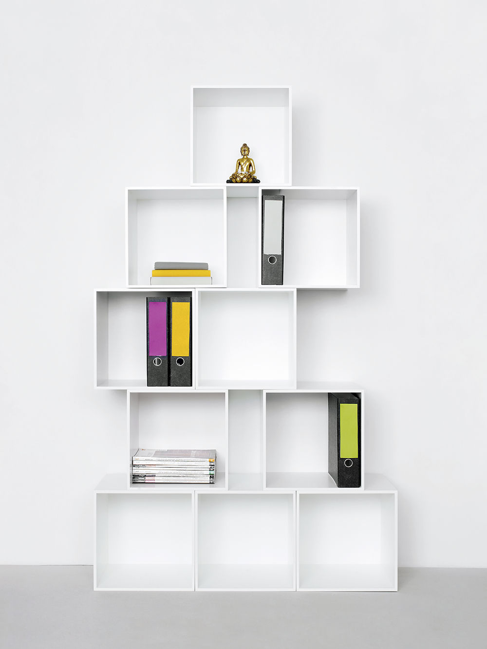 Delicieux Tall Filing Cabinet / Wall Mounted / MDF / Contemporary   Office Shelf For  Folders