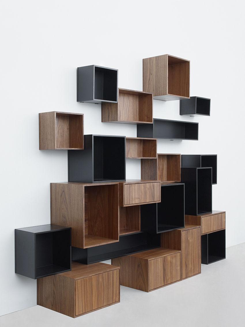 Modular shelf / contemporary / MDF / commercial - RK029