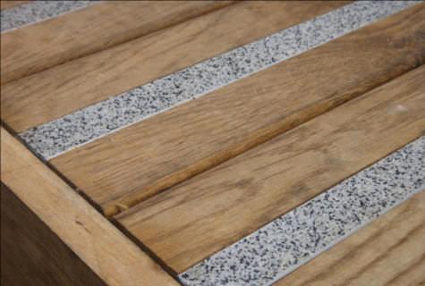 ... Aluminum Stair Nosing / Non Slip U29 MINERAL PASSAGE   TBS ...