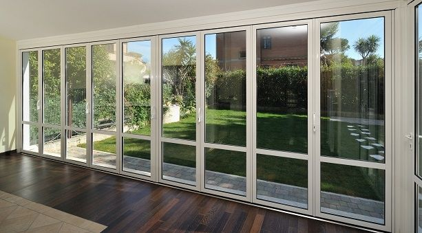 Perfect ... Sliding And Stacking Patio Door / Aluminum / Double Glazed S.51 Panda  Windows ...
