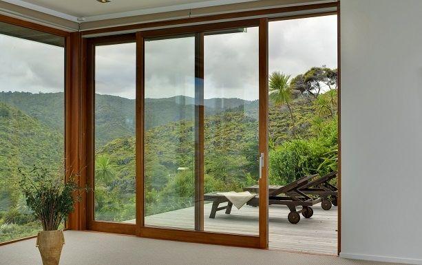 Lift And Slide Patio Door Wooden Double Glazed