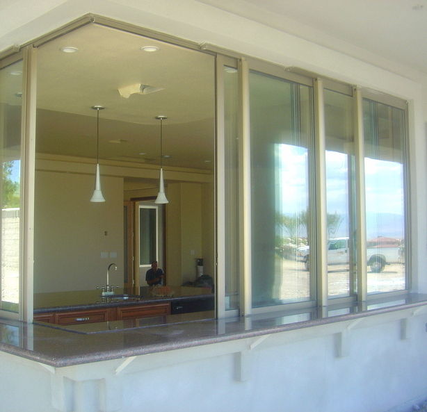 Sliding window aluminum thermal break TS67 Panda Windows