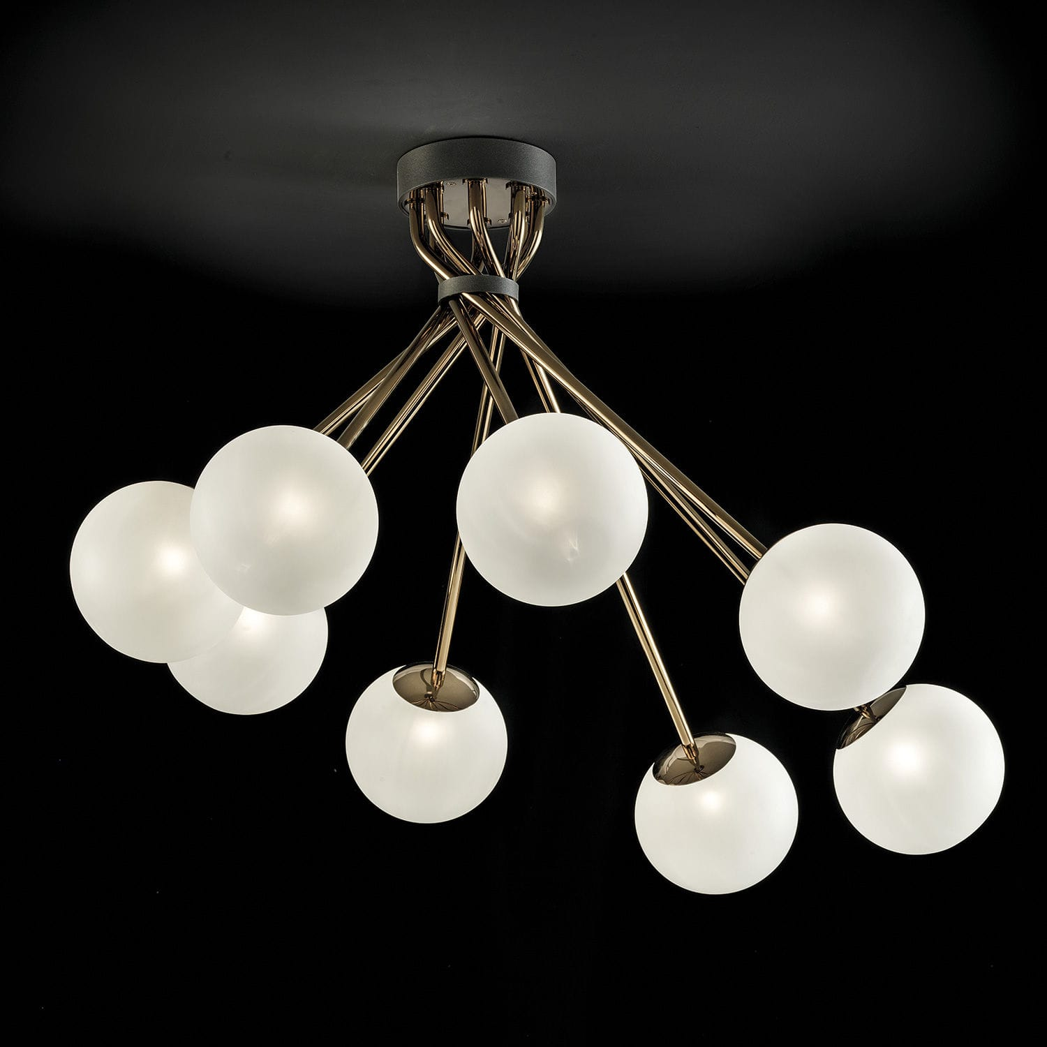 contemporary ceiling light / glass / LED - 2392/PL TEA