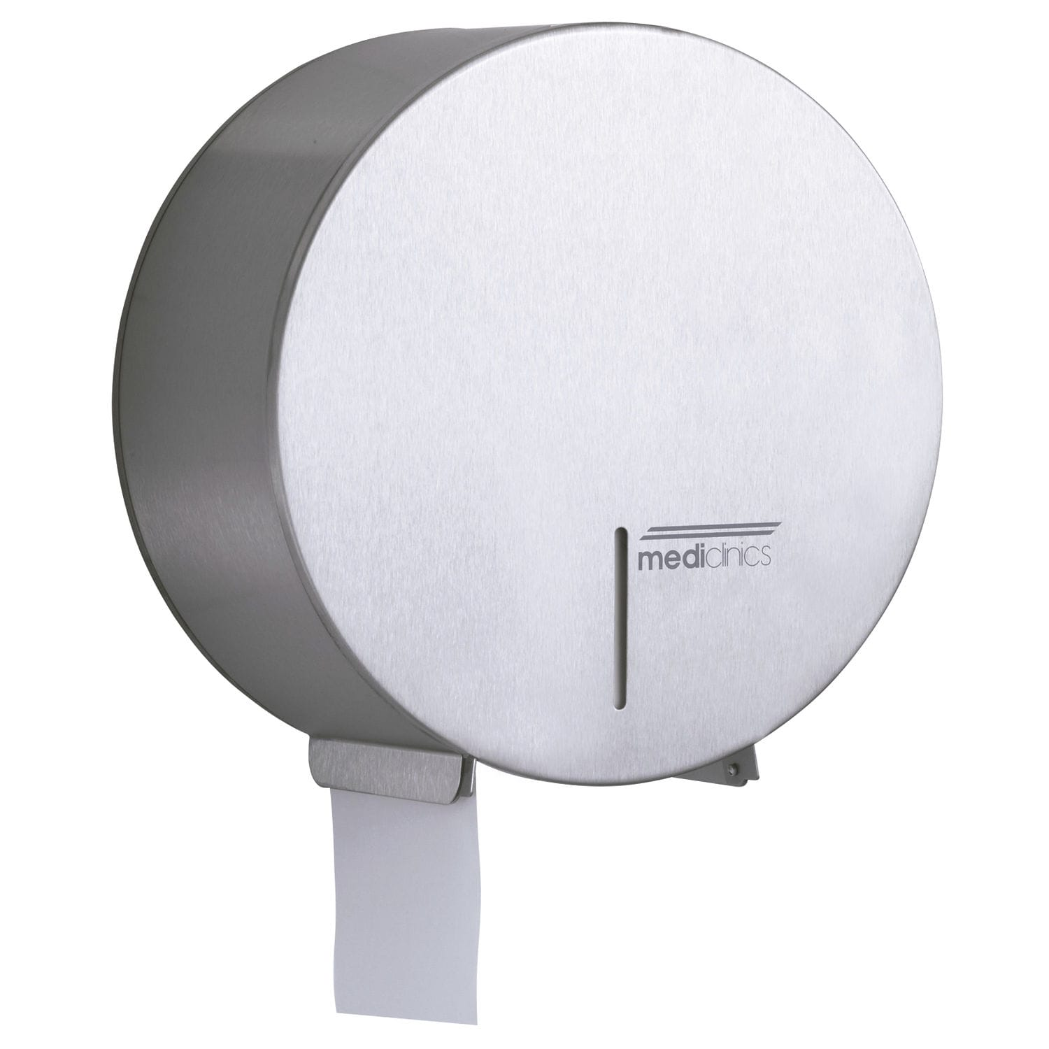 Wall-mounted toilet paper dispenser / stainless steel / commercial ...