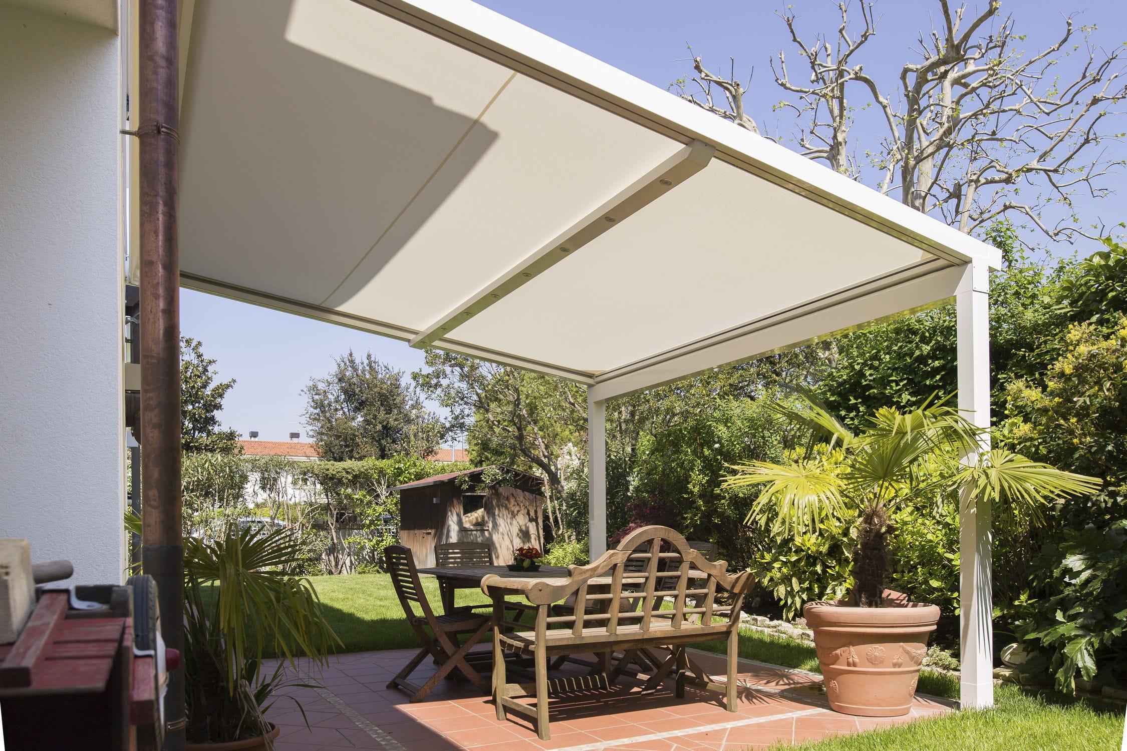 ... Wall-mounted pergola / aluminum / commercial XTESA KE Outdoor Design ... & Wall-mounted pergola / aluminum / commercial - XTESA - KE Outdoor ...