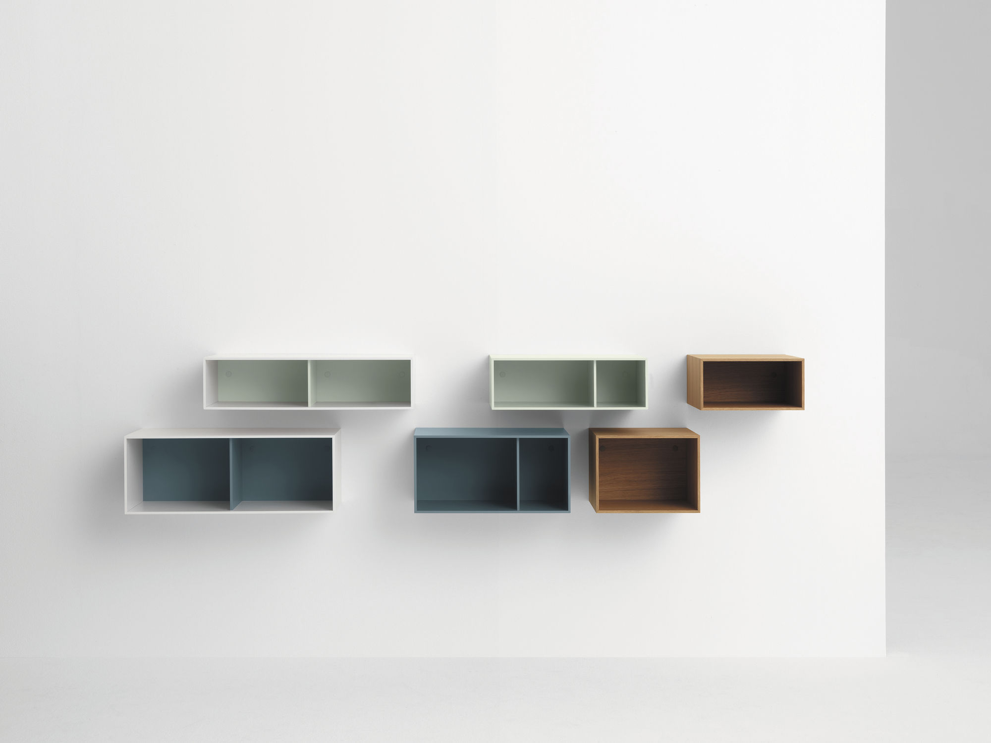 Wall mounted shelf contemporary MDF BOXES pastoe