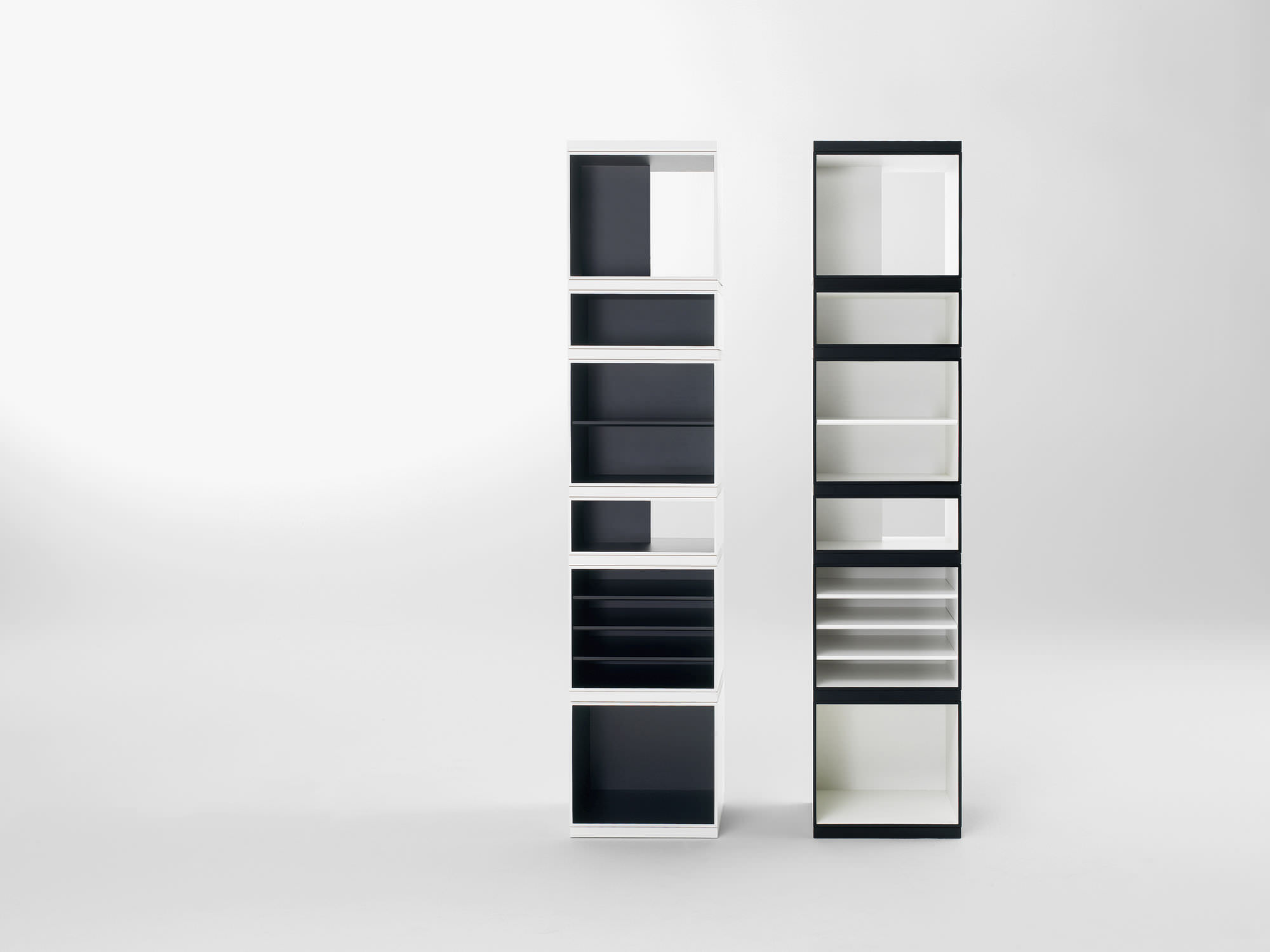 Contemporary Bookcase Mdf Totem By Vincent Van Duysen