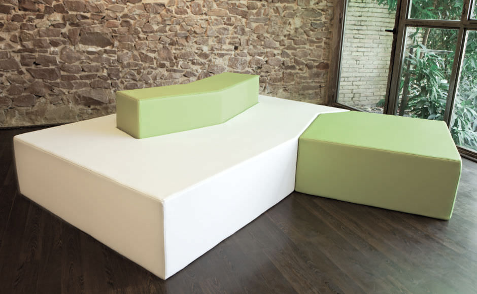 Modular Sofa Contemporary Garden Fabric Illa Axthor