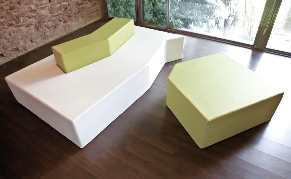 ... Outdoor Furniture Contemporary Pouf / Fabric / Garden   ILLA