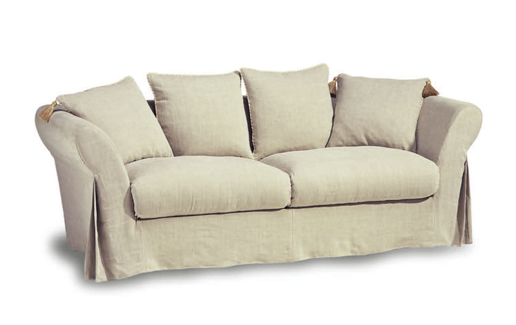 Captivating Traditional Sofa / Cottage Style / Fabric / 2 Person   JULIE