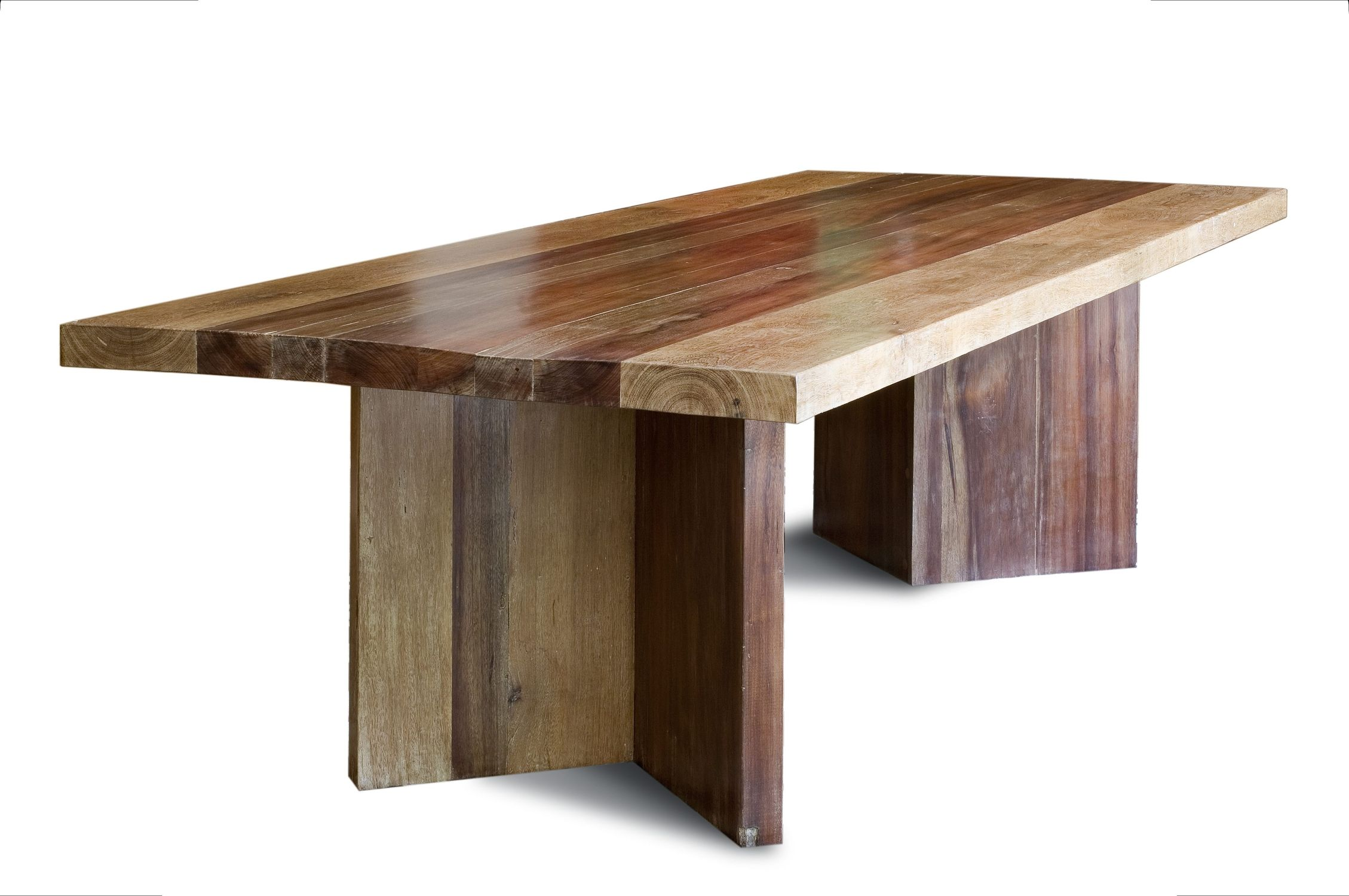 Contemporary Table / Wooden / Rectangular / In Reclaimed Material   GOURMET  V
