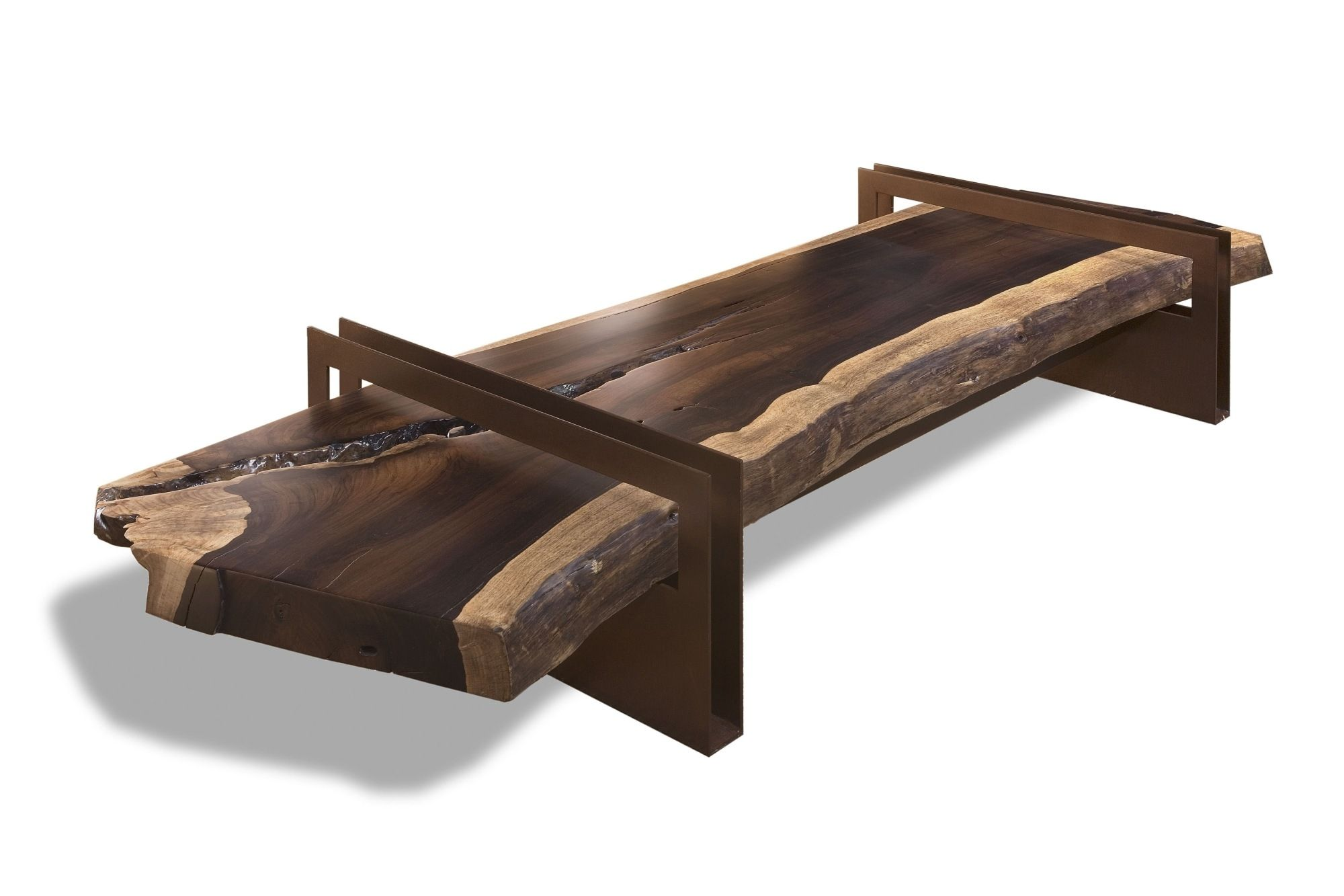 Contemporary Coffee Table / Wooden / Rectangular / In Reclaimed Material    JACARANDA