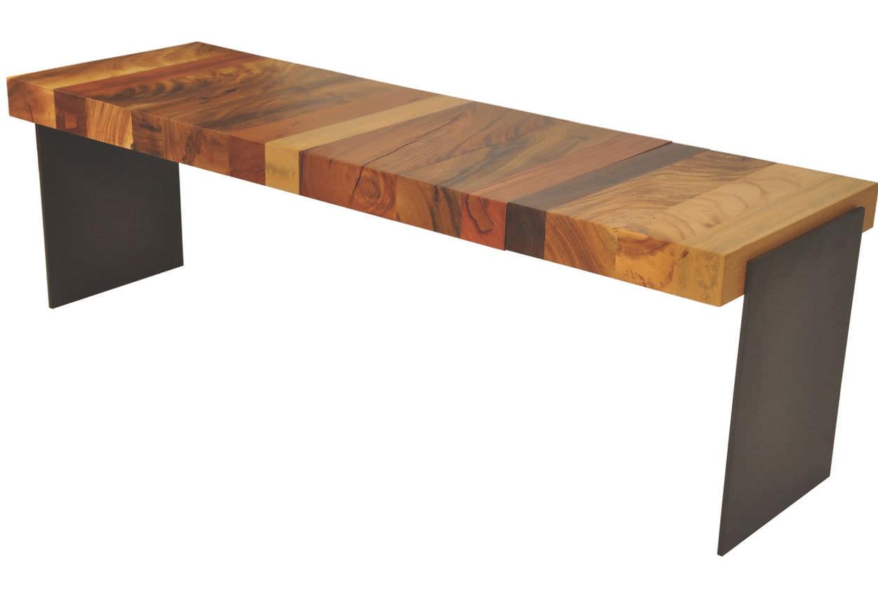 garden bench  contemporary  wooden  rotsen furniture -  garden bench  contemporary  wooden rotsen furniture
