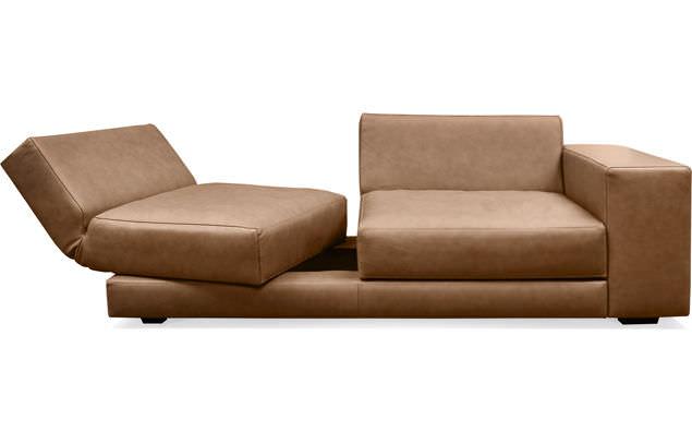Machalke Schlafsofa modular sofa contemporary leather 3 seater matrix machalke
