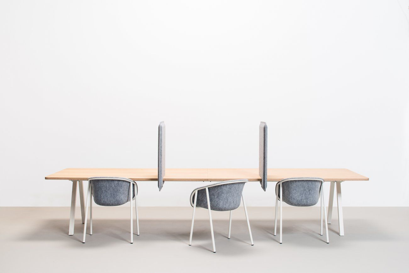 Ordinaire ... Countertop Office Divider / Acoustic Felt ...