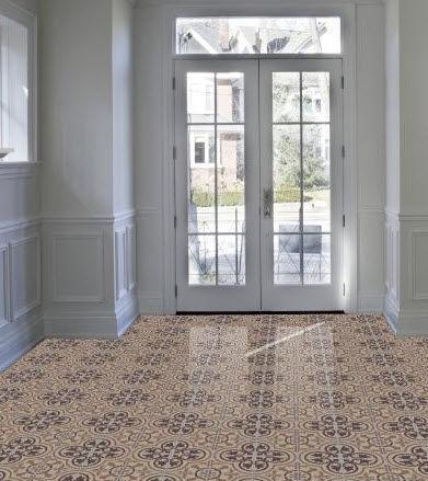 Indoor tile / kitchen / floor / cement - CLUNY-688 - Granada Tile